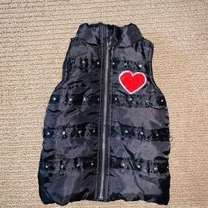 Betsey Johnson Baby Heart Puffer Best